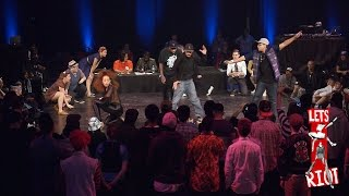 STREET x SWING DANCE - Montreal Swing Riot showcase at Bust A Move 2015