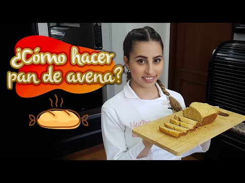 Cómo hacer pan de avena - NatyCfit