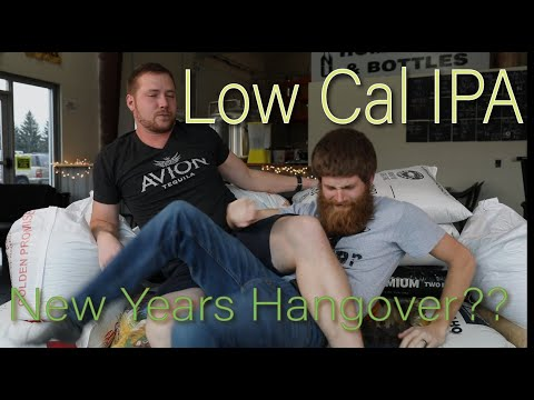 How To Make Low Calorie Beer - New Years Resolution - Low Cal IPA