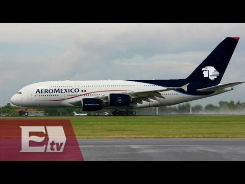 Aeroméxico reinicia vuelo diario a Toronto desde la Ciudad de México