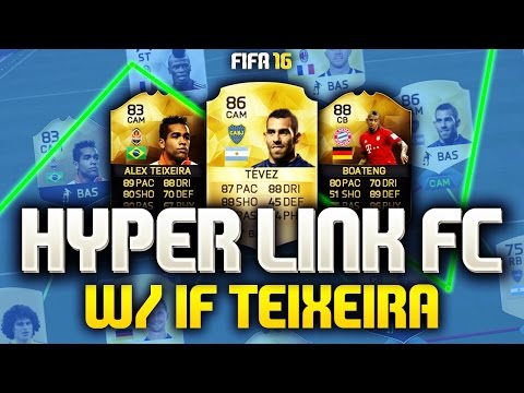FIFA 16 - PERFECT CHEMISTRY LINK SQUAD! HYPERLINK FC (FIFA 16 ULTIMATE TEAM)