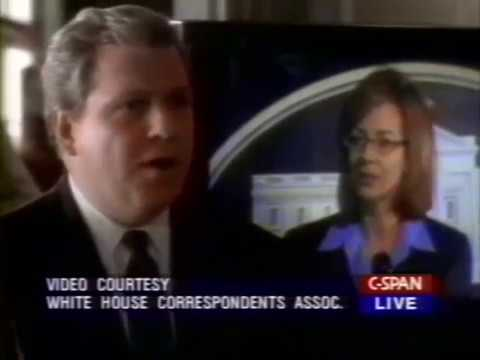 White House Correspondents' Dinner 2000 - The West Wing clip