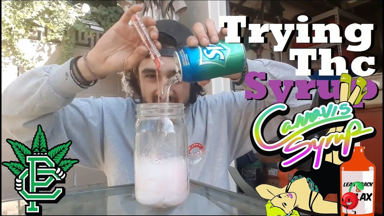 Try Thc Syrup For The FIrst Time - YouTube