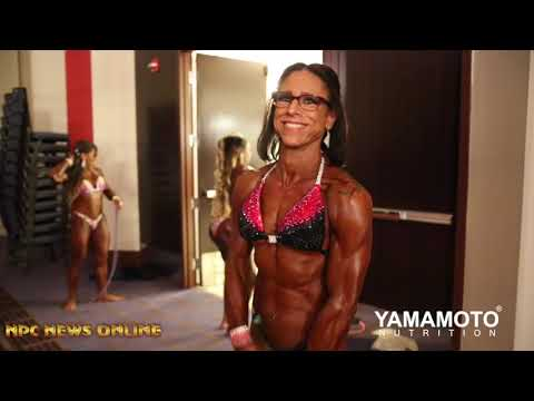 2019 NPC Jr. Nationals Women's Physique  Backstage