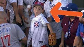 MLB Fans Throwing Homerun Balls Back (HD)