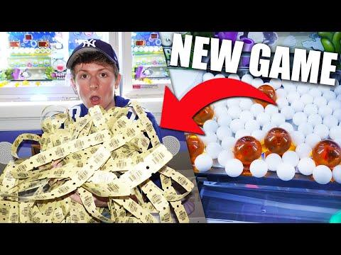 NEW ARCADE GAME = BIG JACKPOTS!