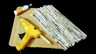 2 Useful Things you can make using newspaper
