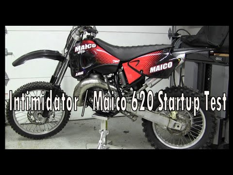2004 ATK Intimidator 620 / Maico 620 Start up test