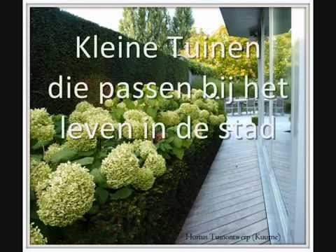 Tuinontwerp Kleine Tuin : Hortus tuinontwerp kleine tuinen youtube