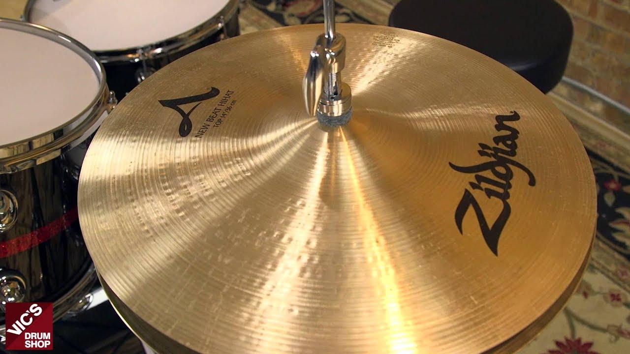 zildjian avedis 14 new beat hi hat cymbals youtube. Black Bedroom Furniture Sets. Home Design Ideas