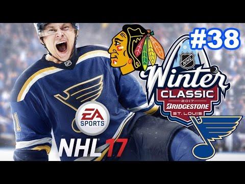 NHL 17 - St. Louis Blues Franchise #38 - Winter Classic Jerseys, But No Winter Classic