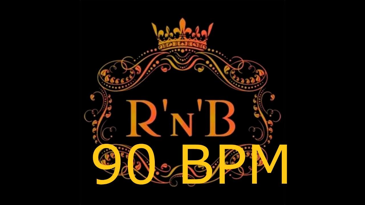 90 BPM R&B Drum Track