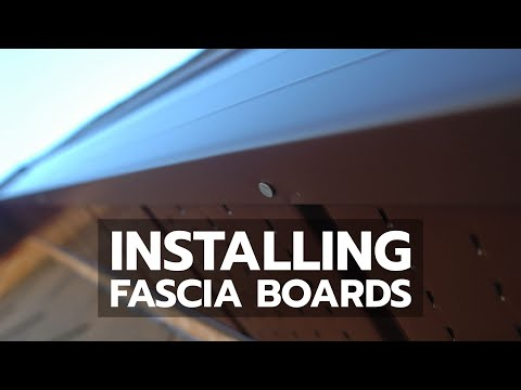 Installing Fascia Boards Youtube