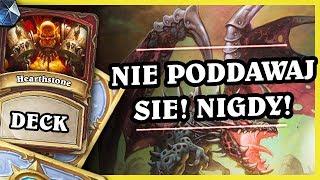 NIE PODDAWAJ SIĘ NIGDY! - ODD DRAGON WARRIOR - Hearthstone Deck (Rastakhan's Rumble)