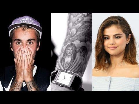 Justin Bieber STILL Has Selena Gomez Tattoo?!