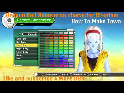 Dragon Ball Xenoverse How To Create Final Form Frost