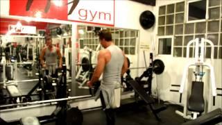 TM gym - entrenando RAUL OSORIO (Venga la alegria) - 2013 - HD