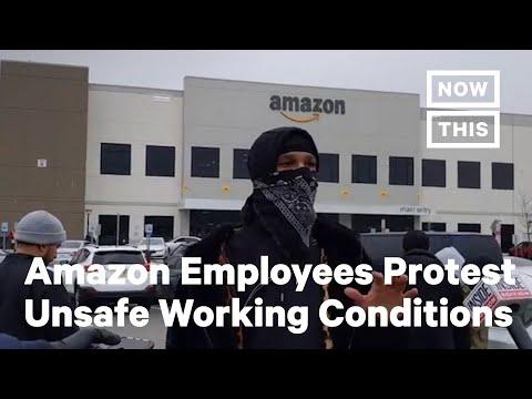 Amazon Employees Strike Due To COVID-19 Crisis | NowThis