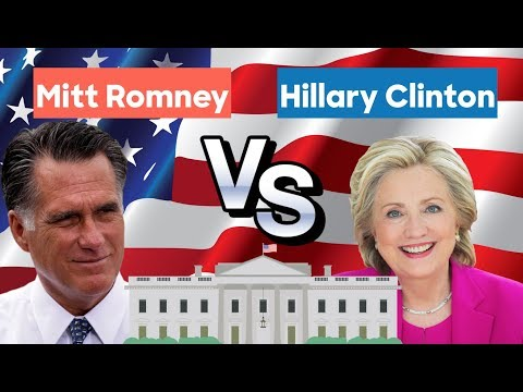 2012 Alternative History | Hillary Clinton vs Mitt Romney