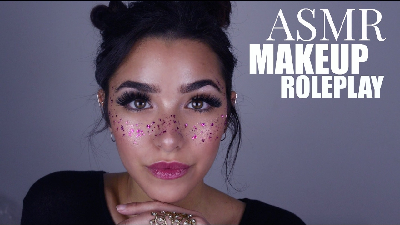 Asmr Doing Your Makeup Personal Attention Cottons Cream Sounds