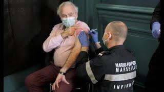 Marseille : top départ des vaccinations aux plus de 75 ans