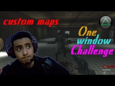 One window Challenge | CUSTOM MAP | COD WAW | MrBaconVanHelsing