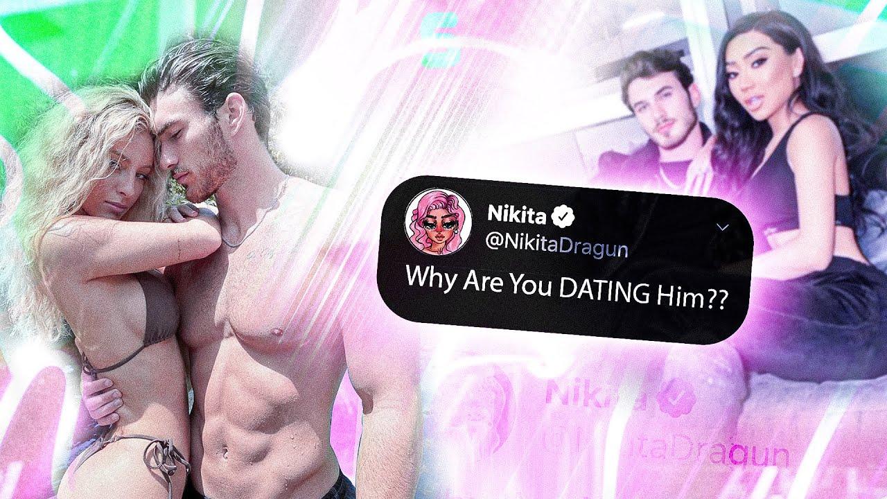 @Nikita Dragun getting Salty with @Daisy Keech Dating her Ex.. 😬