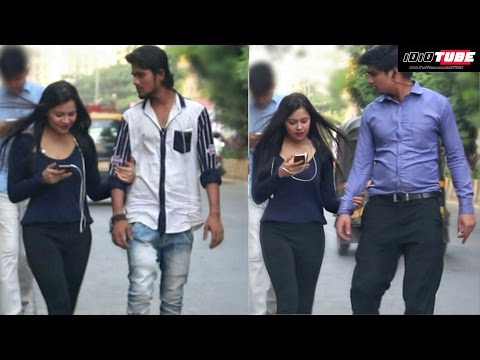 Hot Girl Holding Hand Prank - iDiOTUBE   Pranks In India