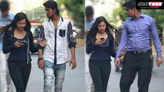 Hot Girl Holding Hand Prank - iDiOTUBE | Pranks In India thumbnail