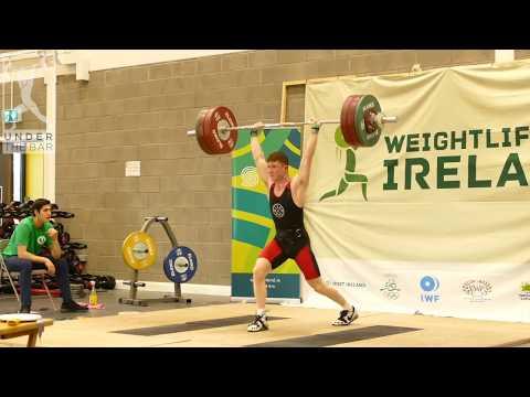 Stewart Gilbert personal best total at Irish Champs!