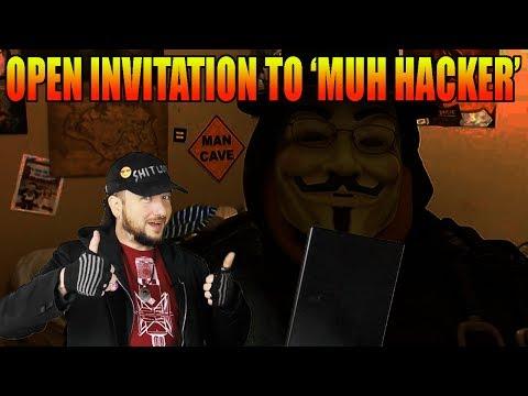 Open Invitation to 'Muh Hacker'