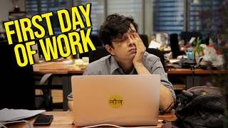 Thoughts You Have When You Start A New Job | Feat. Shayan | BuzzFeed India