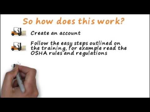 Online Forklift Training | OSHA Forklift License | Forklift Academy ...