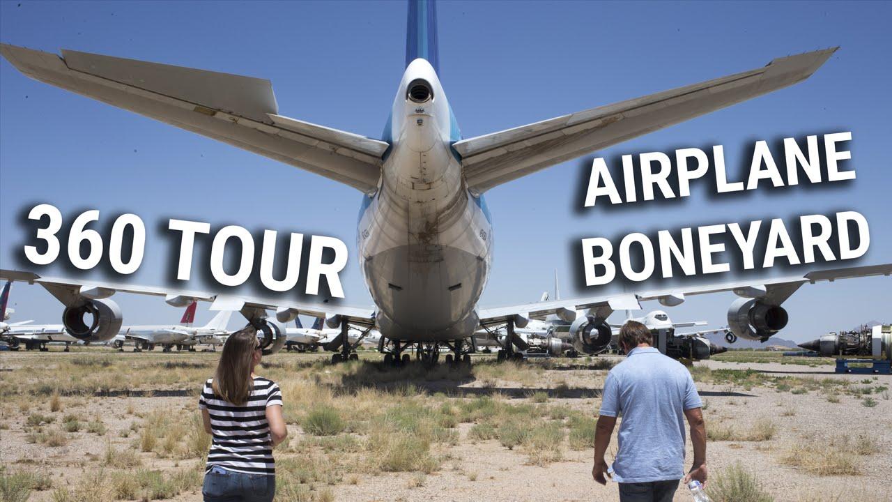 Pinal Airpark: Once-secretive aircraft boneyard slowly opens