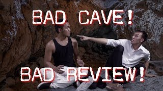 Things NOT to say when you get STUCK IN A CAVE