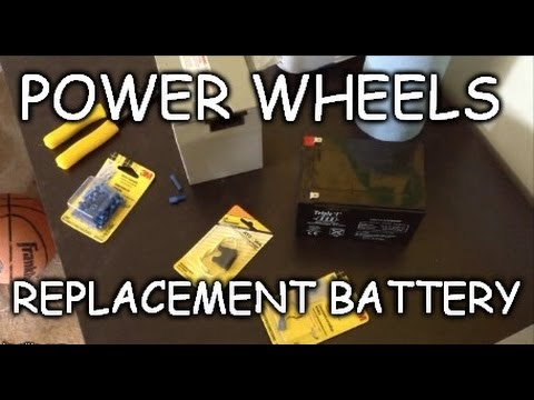 How To Cheap 12 Volt Power Wheels Replacement Battery Wiring