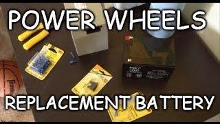 Hoe: Goedkope 12 Volt Macht Wielen Vervangen Van De Batterij Bedrading Wijziging - Powerwheels Gewijzigd
