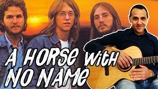 America - A Horse With No Name - Chitarra - Principianti - Very Easy Guitar Lesson