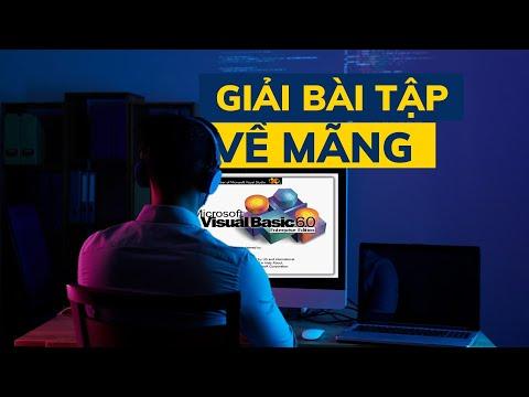 Visua Basic 6.0 ᴴᴰ   Bài tập về mảng
