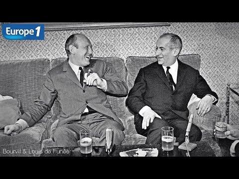 Bourvil & Louis de Funès - Discussion inédite (Europe 1_1966)