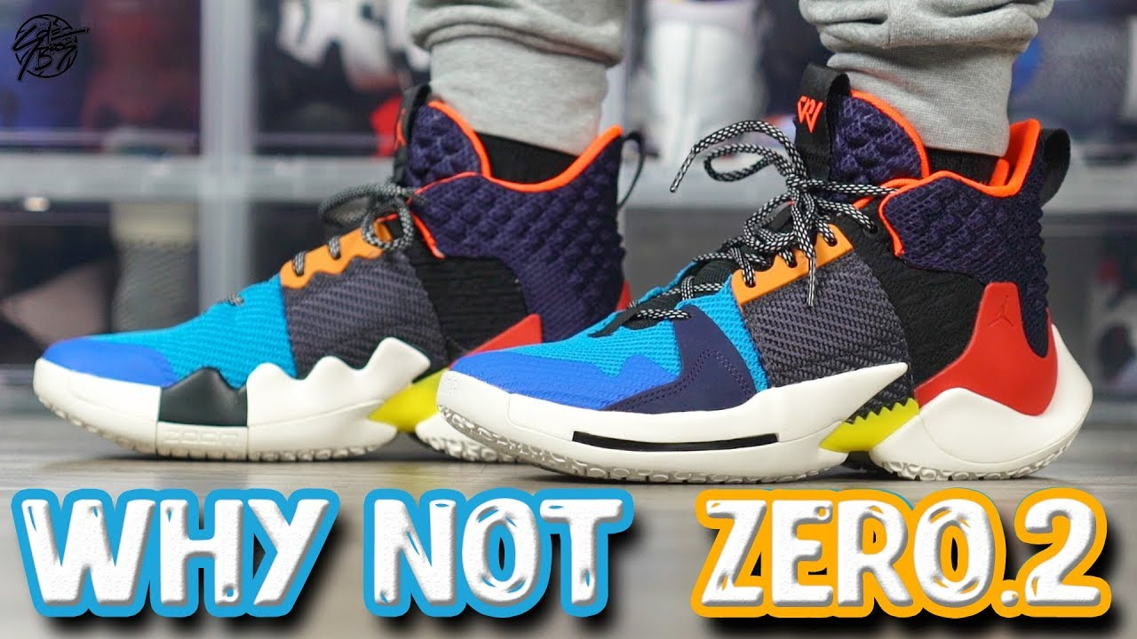 check out f1d6e 78143 Jordan Why Not ZERO.2 (Russell Westbrook) First Impressions Tech Overview!