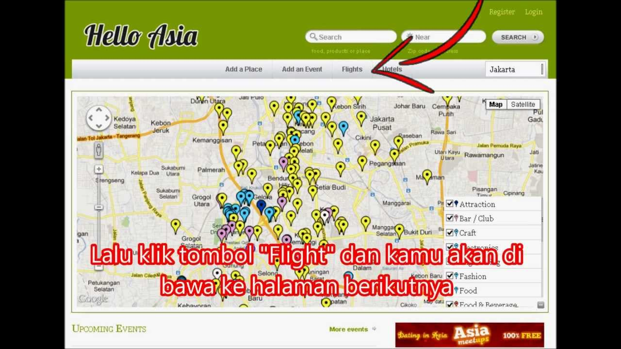 Cara Beli Tiket Pesawat Murah di Hello Asia Travel - YouTube