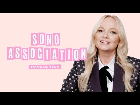 Emma Bunton Sings the Spice Girls, Whitney Houston, and New Edition | Song Association | ELLE