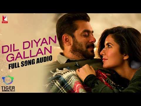 Dil Diyan GallanFull Song AudioTiger Zinda HaiAtif AslamVishal and S