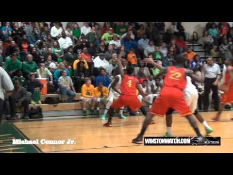 Winston Watch - Winston-Salem Prep @ North Rowan - Game Highlights