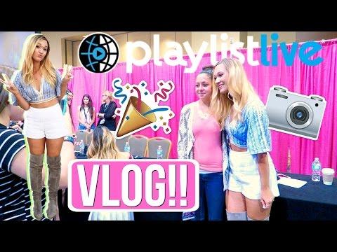 PLAYLIST LIVE ORLANDO 2016!!! YOUTUBE CONVENTION!?!