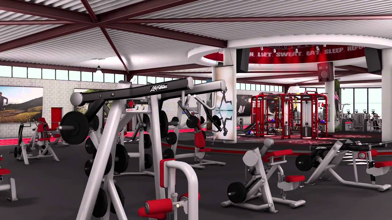 Life fitness journey environment youtube for Gym life fitness