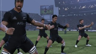 Rugby Challenge 3: BE A PRO 2018 All Blacks v Springboks 4 Nations (Round 1)