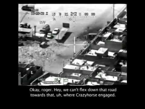 """""""DEATH FROM ABOVE"""" FOOTAGE SECURED FROM A US GUNSHIP"""