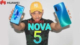 رسميا قاهر  الفئة المتوسطة هواوي نوفا Nova 5i هاتف بشاشه خرافيه وتصميم مذهل و أربع كاميرات 🔥